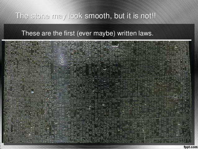 the justice and harshness of the code of hammurabi Get an answer for 'compare and contrast the code of hammurabi and today's legal system' and find homework help for other history questions at enotes.