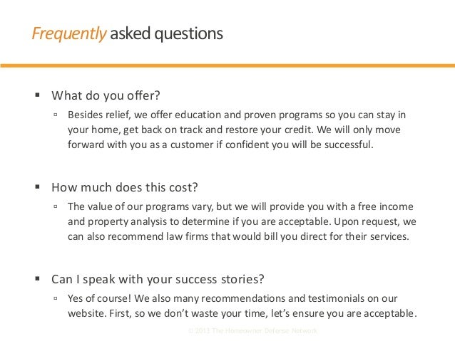  What do you offer?  Besides relief, we offer education and proven programs so you can stay in your home, get back on tr...