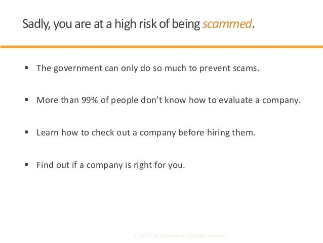  The government can only do so much to prevent scams.  More than 99% of people don't know how to evaluate a company.  L...