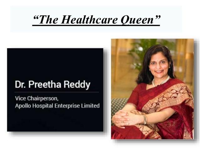 The healthcare queen