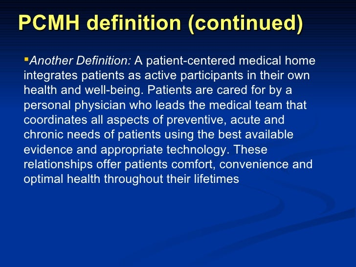 provider patient relationship definition of single