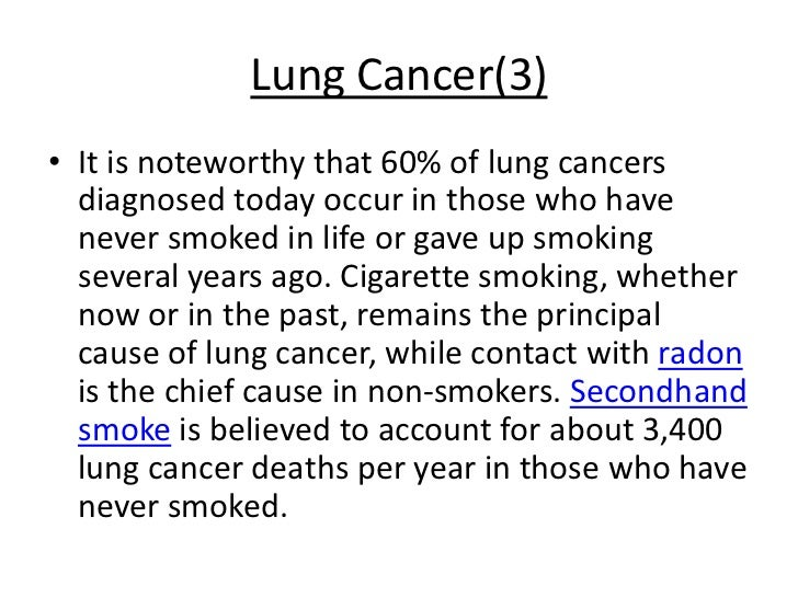 the health risks of smoking cigarettes