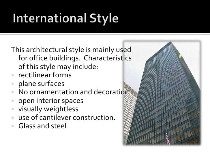 The hearst tower Characteristics of modern office
