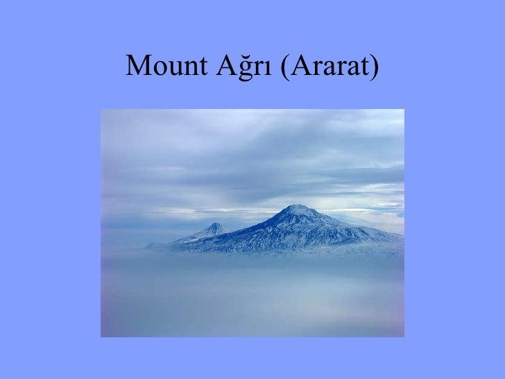 Mount Ağrı (Ararat)