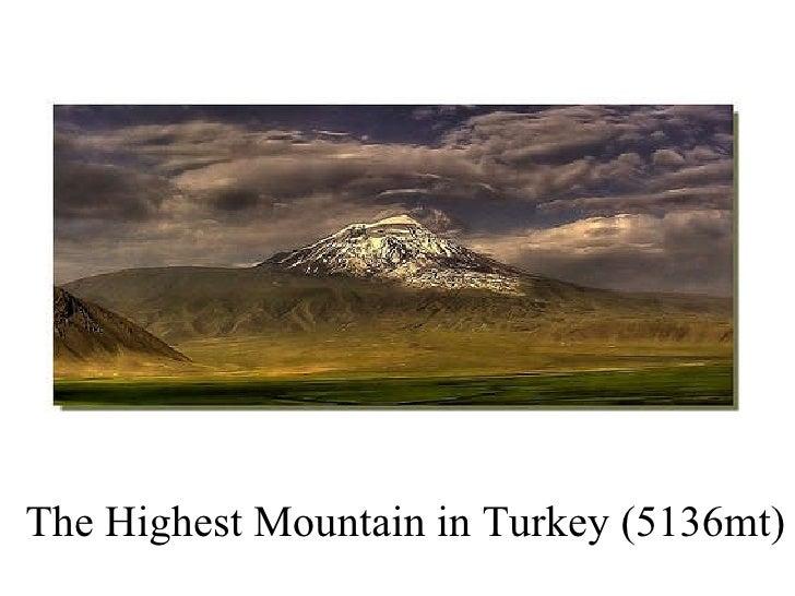 The Highest Mountain in Turkey (5136mt)
