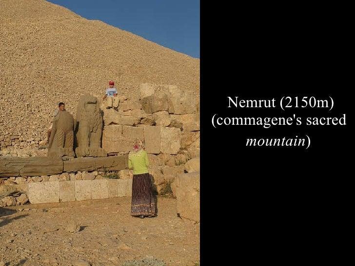 Nemrut (2150m) (commagene's sacred  mountain )