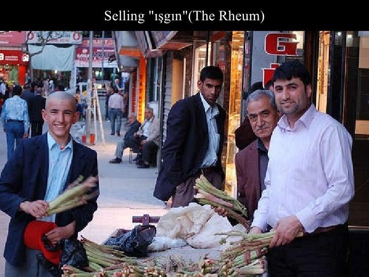 "Selling ""ışgın""(The Rheum)"