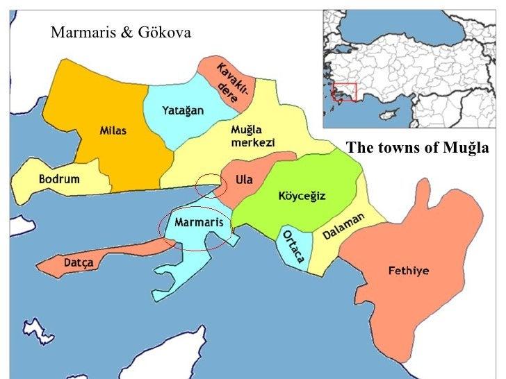 Marmaris & Datça The towns of Muğla Marmaris & Gökova The towns of Muğla