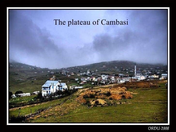 The  plateau  of Cambasi