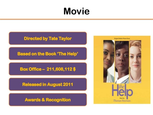 The help novel thesis