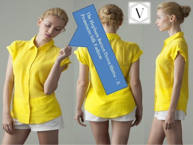 3511a59b87c5b The hepburn button down shirts a prominent silk fashion
