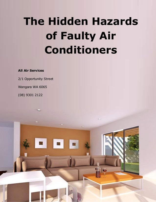 The Hidden Hazards of Faulty Air Conditioners