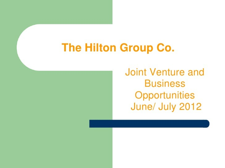 The joint venture group binary options