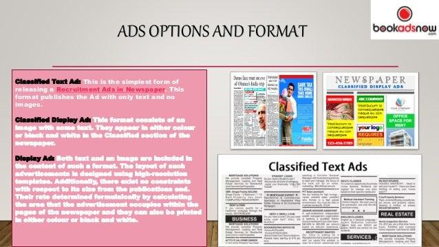 Benefits Of Giving Ads In Hindu Newspaper Via Bookadsnow
