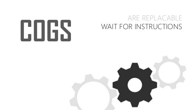 ARE REPLACABLE WAIT FOR INSTRUCTIONS COGS
