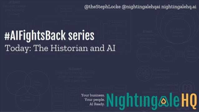 The historian and AI