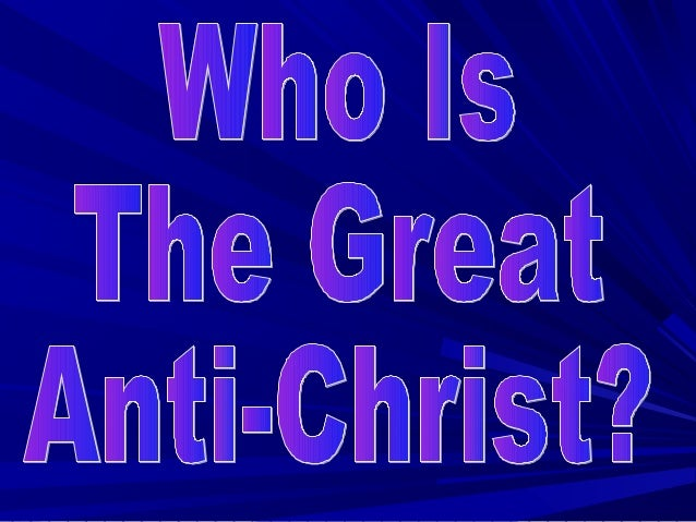 Martin LutherMade two great discoveries– He found the real Christ– He also found who was the great Anti-Christ– Our study ...