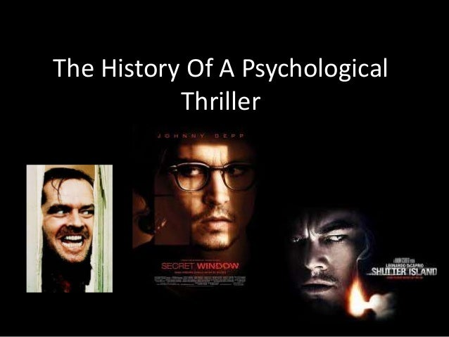 how to write a psychological thriller