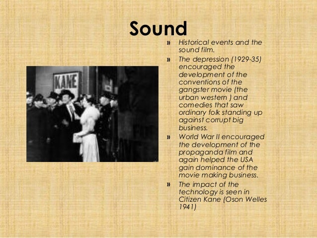 what year was sound introduced into film