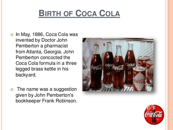 The history of coca cola gisella dutan