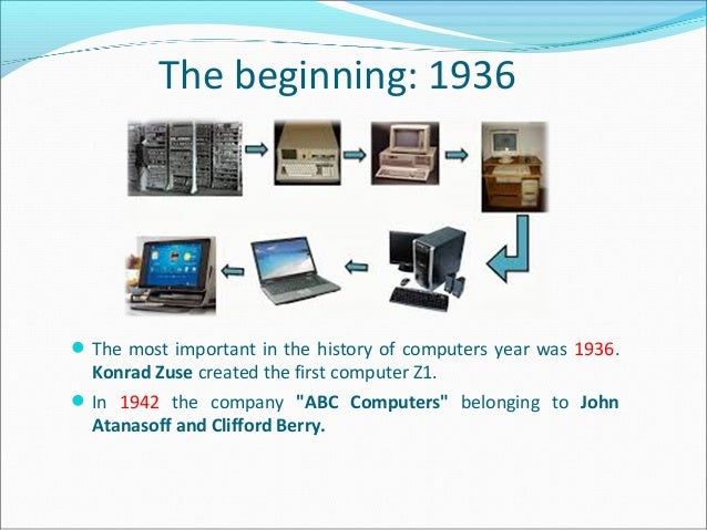 the history and development of computers For nearly three decades, dell has been on an incredible journey, experiencing positive growth on a global scale learn more about our company history here.