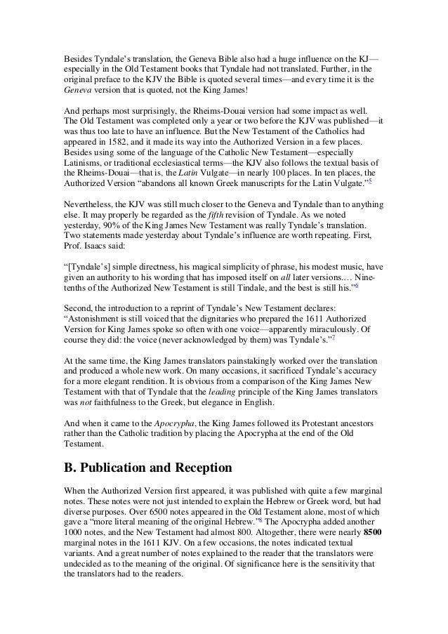 The history of de english bible