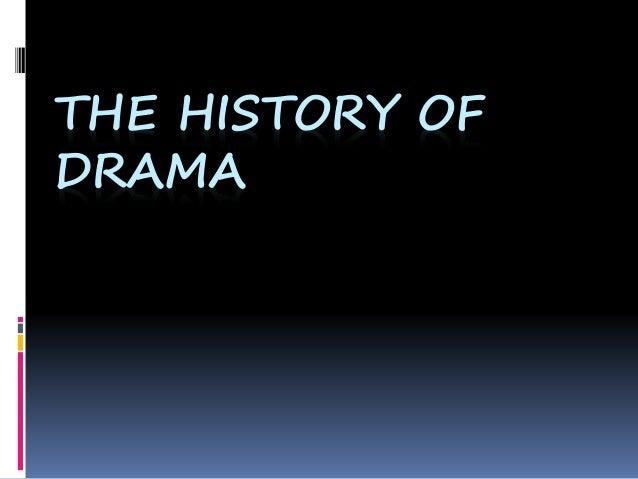 origin of drama