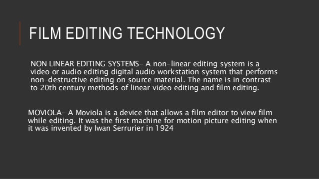 history of editing 1 introduction transcribing and editing an oral history interview is a matter of personal style, but there are some important guidelines for basic transcript production.