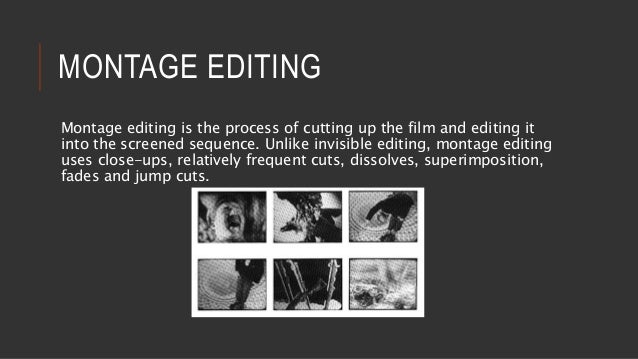 1000  images about Editing, Montage on Pinterest | Editor, Orson ...