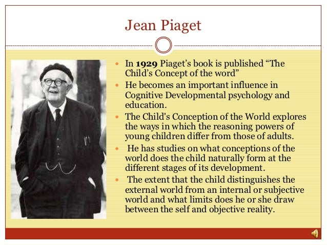 Young Jean Piaget A history of education...