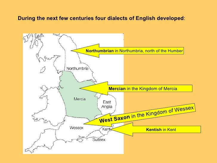 an overview of the three germanic tribes that brought in the old english dialect History of the english language really started with the arrival of three germanic tribes who invaded britain  during the 5th century ad the angles, the saxons and the jutes, crossed the north sea from what today is denmark and northern germany.