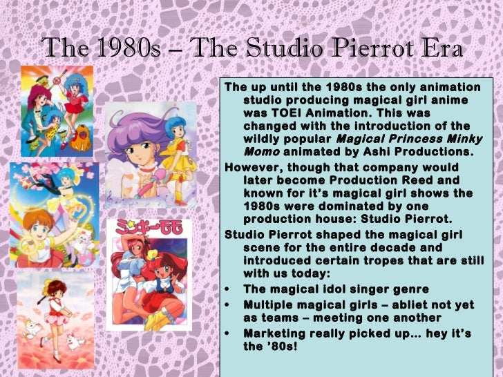 The Hstory of Magical Girl Anime: Sparkles Without Cullens