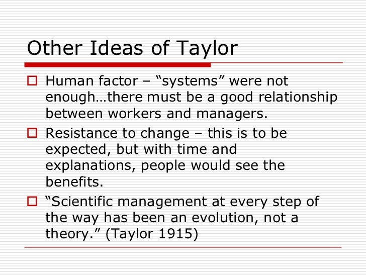 History of Management Thought Revision Paper
