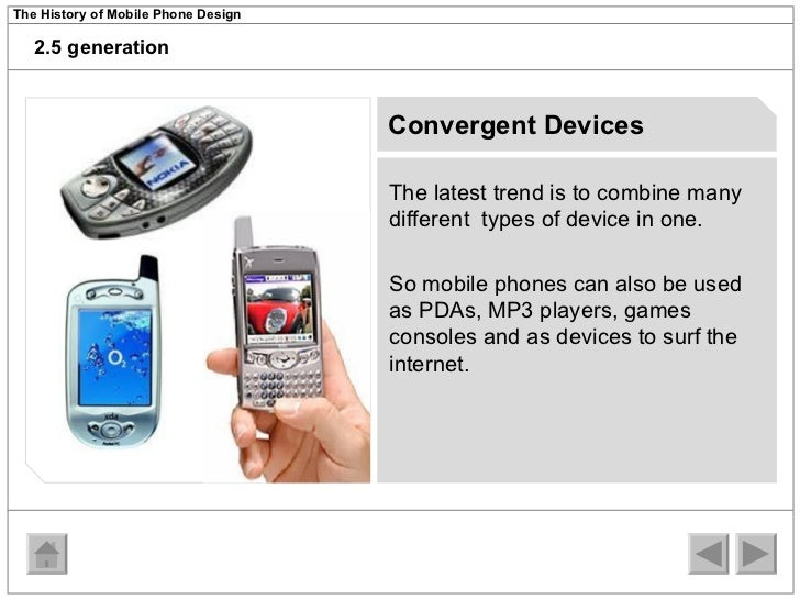 an introduction to the history of cell phones A brief history of smartphones rim entered the mobile phone market with its blackberry 5810 device, a phone with the ability to get e-mail and surf the web.