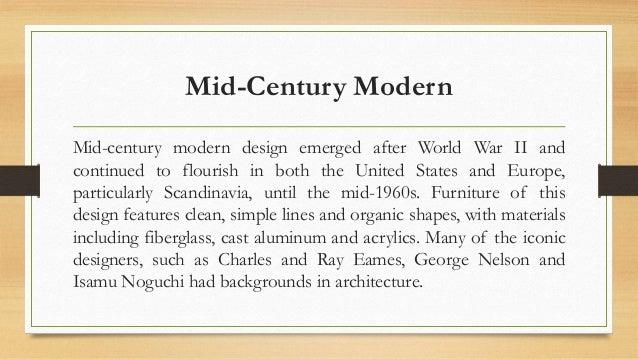 6. The History of Modern Australian Designer Furniture