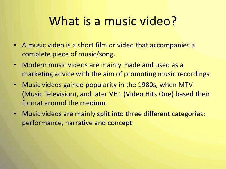 music video media coursework A checklist for ocr g324 music video brief analysis of similar media products- at least four music videos analysed in detail online course - linkedin learning.