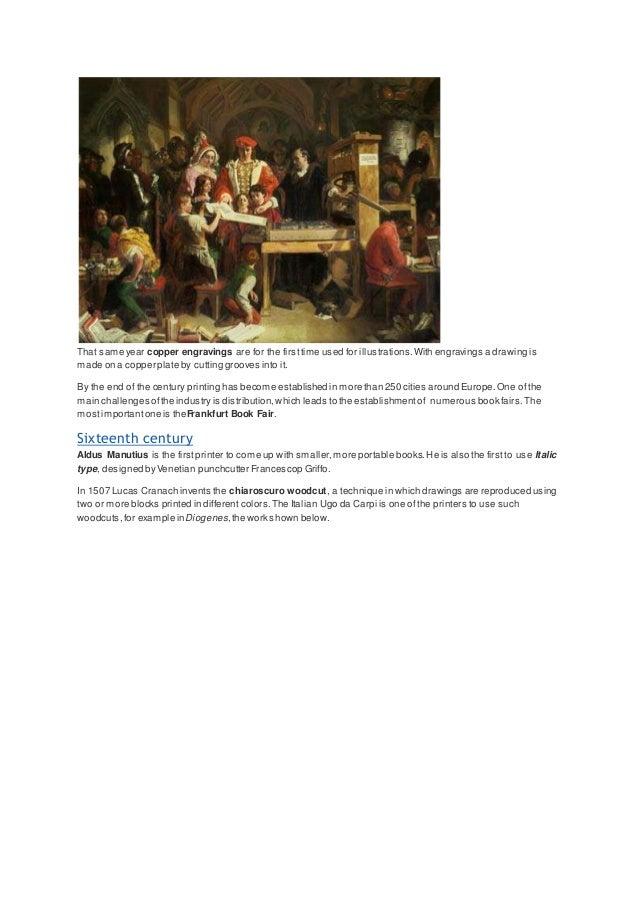 The History of Printing Press Slide 3