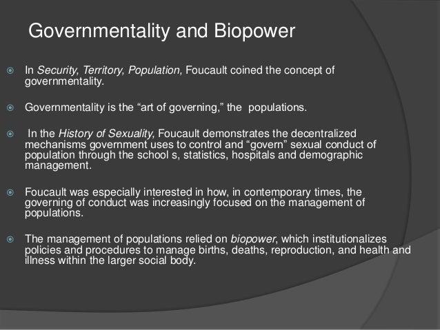 Michel Foucault Biopolitics and Biopower