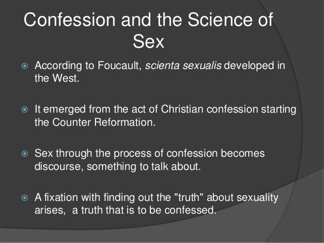 Scientia sexualis meaning