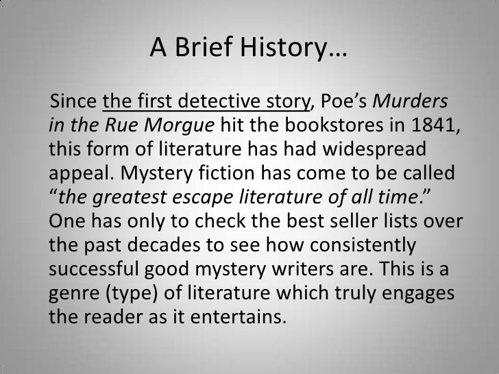 "history of the detective story Paul grimstad writes about t s eliot's reviews of detective fiction  as a ""person who specializes in detective stories and ecclesiastical history."