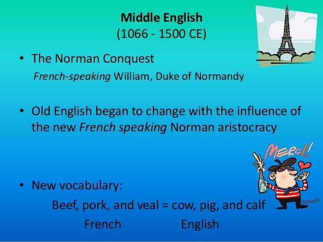 The influence of Norman Conquest on Old English Essay