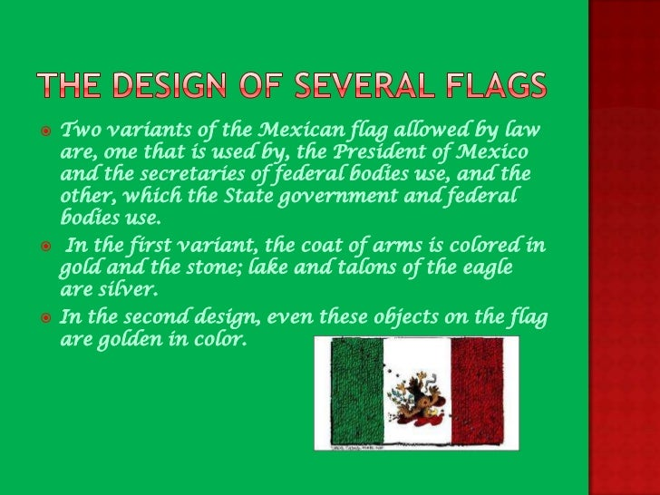 the history of the mexican flag