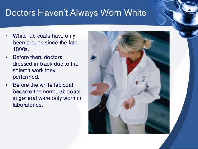 The History of the White Lab Coat