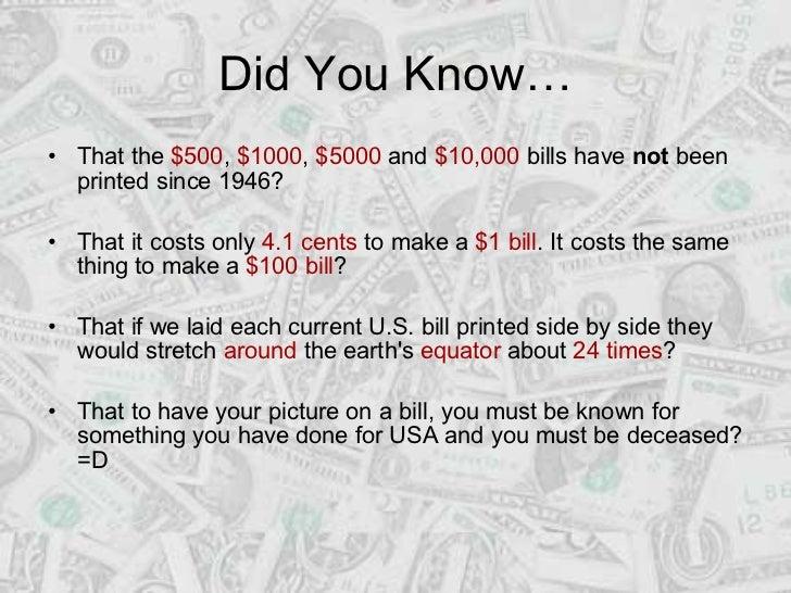 The History Of U.S. Dollar Slide 12