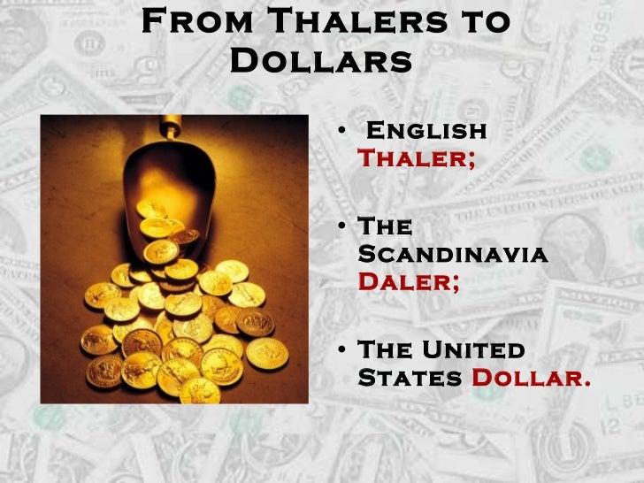 The History Of U.S. Dollar Slide 2