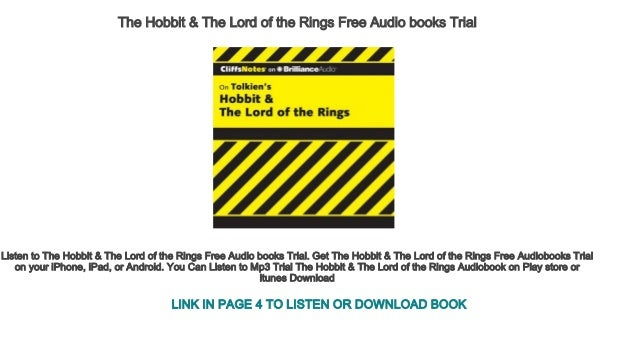 The Hobbit Book For Ipad