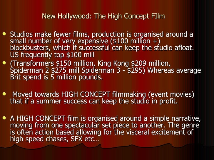 The hollywood studio system updated 11 new hollywood the high concept film fandeluxe Image collections
