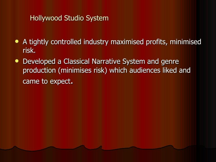hollywood studio system