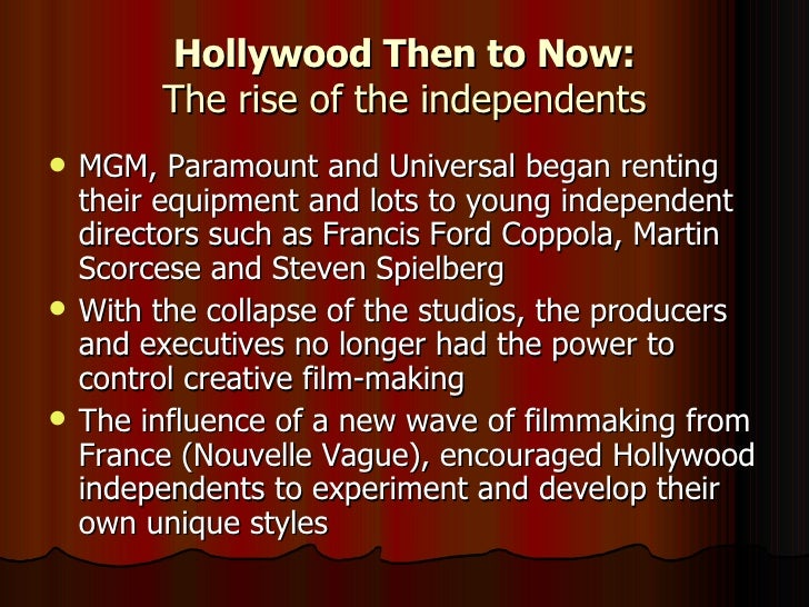 hollywood studio system The hollywood studio system rebel without a cause (1955) the studio system niche studio styles early censorship the three elements vertical integration: production  &ndash a free powerpoint ppt presentation (displayed as a flash slide show) on powershowcom - id: 3c967d-ztfjy.
