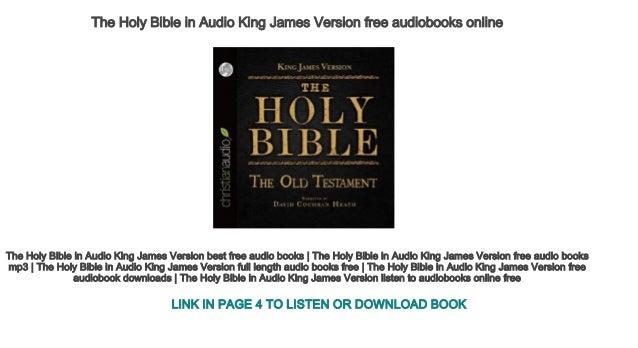 free online holy bible king james version